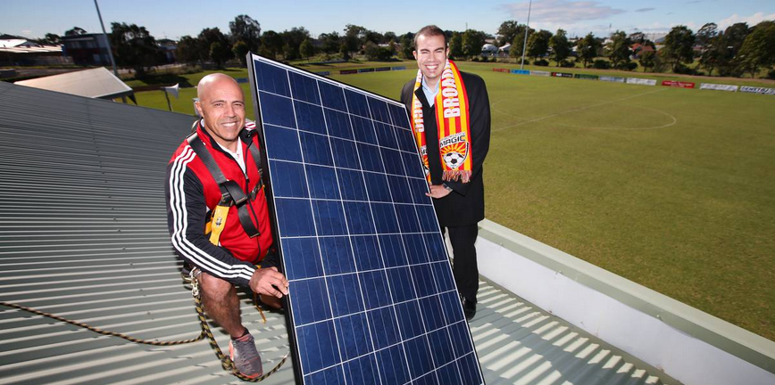 Solar Energy Systems For Broadmeadow Magic Soccer Club